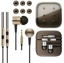Xiaomi 2nd Piston Earphones 3.5mm Earbuds In-Ear & Mic Remote Wire Control ,Gold