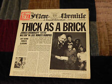 Jethro Tull - Thick as a Brick + Aqualung) + Steve Miller) Lot of 3 - Records)