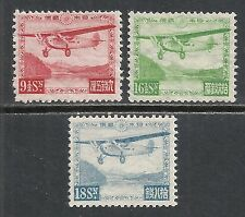 Japan stamps 1929 MI 196-198  AIRMAIL  MLH  VF