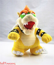 "10"" Super Mario Standing King Bowser Koopa Stuffed Plush Toy Xmas good Gift"