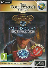 Hidden Expedition SMITHSONIAN HOPE DIAMOND Hidden Object CE PC Game NEW