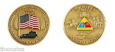 ARMY FORT KNOX HOME OF MOUNTED WARFARE USA FLAG MILITARY  CHALLENGE COIN