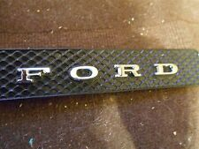 1970 1971 FORD TORINO FAIRLANE GT COBRA REAR WINDLACE PANEL FORD LETTERS EMBLEMS