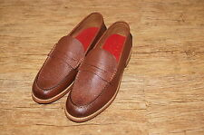 Brand New & Rare Grenson Jack leather Slip-On Loafers UK 8 EU 42 RRP £200