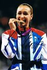 Signed Jessica Ennis-Hill 2012 London Olympics Athletics Photo