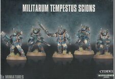 Warhammer 40k Astra Militarum Tempestus Scions / Command Squad - Out of Box