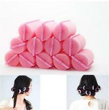 12pcs Magic Sponge Foam Cushion Hair Styling Rollers Curlers Twist Tool Salon LD