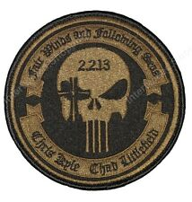 "RARE Craft International AUTHENTIC 4"" Memorial Patch 2.2.13 Bronze Chris Kyle"
