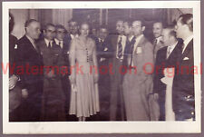 "5x7"" Original Photo Eva Peron 31st March 1949 Buenos Aires"