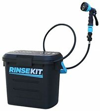 Rinse Kit Portable Sprayer 2 Gallon No Pumping No Batteries Spray Nozzle Black