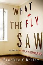 What the Fly Saw: A Mystery (Detective Hannah McCabe)-ExLibrary