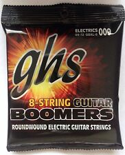 GHS Boomers Electric Guitar Strings GBXL-8 8-string set 9-72