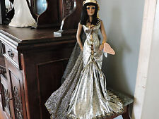 1997 Franklin Mint Heirloom Doll Cleopatra Artist Maryse Nicole Original Mint