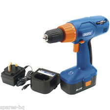 Draper 71385 14.4-Volt Variable-Speed Cordless Drill & Combination Screwdriver