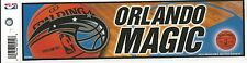 ORLANDO MAGIC NBA LICENSED BUMPER STICKER NEW