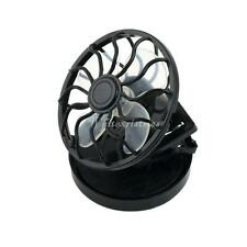 New energy saving Clip-on Solar Cell Fan Sun Power energy Panel Cooling FY
