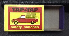 Vintage TAP TAP  Empty Safety Matches Box