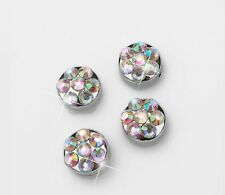 AB Crystal Rhinestone Screw Caps for Crystal Bling Sparkle License Plate Frame