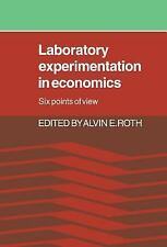 Laboratory Experimentation in Economics: Six Points of View, , Good Book