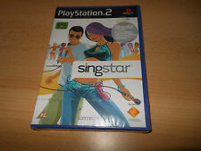 BRAND NEW FACTORY SEALED SINGSTAR FOR PLAYSTATION 2 PS2 SONY