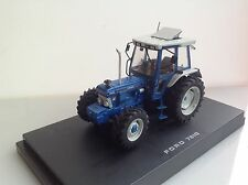 Ford 7810 tractor conversion opening sunroof, window chrome exhaust 1:32 scale