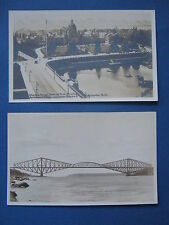 Lot Two Canada Real Photo Postcards. W. B. Edwards