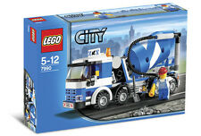 Lego 7990 City Cement Mixer ** Sealed Box ** Construction Vehicle Concrete Truck