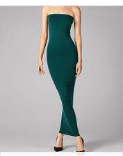 WOLFORD FATAL TUBE DRESS in Bottle Green, Size: L  Ret:$215 New in Box/Tags