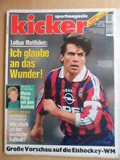 KICKER 32 - 15.4. 1996 * Matthäus VfB-Bayern 0:1 Freiburg-KSC 0:3 Eishockey-WM