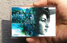 Amy Winehouse / Kühlschrank oder Office Magnet/Kunstdrucke Maße: 95x65mm Hahonin