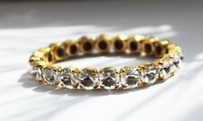 Clear Rivoli Crystal Stretch Tennis Bracelet made with Preciosa Crystal Elements
