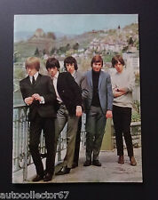 ORIGINAL 1965 The Rolling Stones UK Tour Programme Fantastic condition