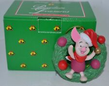 Disney Grolier Ornament Winnie the PoohPiglet Porcelain Christmas in Box