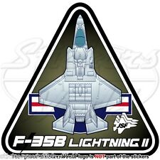 F-35 LIGHTNING II USA MARINES Lockheed F-35B JSF USMC US Marine Corps Sticker