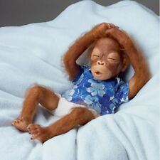 Baby Sekou Ashton Drake Baby Orangutan Doll by Simon Laurens 16  Inches
