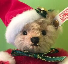 STEIFF 2003 ROLY POLY SANTA MOHAIR ROLLY POLLY SANTA BEAR IN ORIGINAL BOX