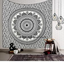 Indian Ombre Mandala Hippie Tapestry Throw Bedspread Blanket Wall Hanging Decor