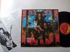 STEVE VAI -Warfare KOREA EX LP W/Insert