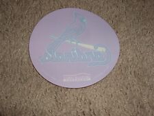 St Louis Cardinals Round Red Static Cling - Ford Plaza Give Away