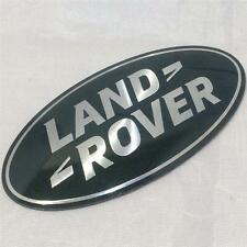 NEW GENUINE RANGE ROVER SPORT SUPERCHARGED GRILL BADGE OVAL GREEN-SILVER