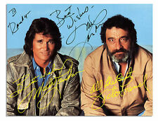Michael Landon Signed 7'' x 5.5'' Postcard From Highway
