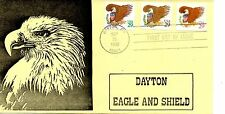 US FDC #2595-2597 Eagle & Shield, Bell Stamp Company (5603)