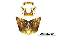 CAN-AM BRP SPYDER F3 HOOD GRAPHICS KIT SPIDERX YELLOW
