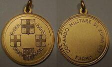 medaglia 6° comando militare di zona Parma