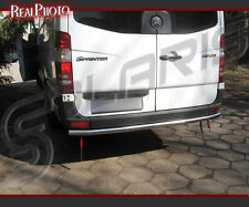 MERCEDES SPRINTER 06+ REAR BAR, REAR BULL BAR + GRATIS!!! STAINLESS STEEL