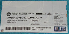 Ticket for collectors Denmark Georgia 2013 Aalborg