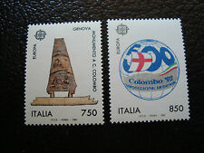 ITALIE timbre yvert et tellier n° 1940 1941 n** (A4) stamp italy