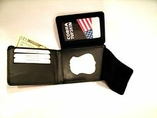 Boston State Police Badge Wallet Recessed Shield Holder Credit Card B-971 CT-83