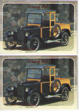 1925 Chevy Pickup Truck Baseball Card Sized Cards - lot of 2 - Must See !!
