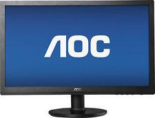 AOC 20-Inch Widescreen LED Monitor - Black (E2060SWD)